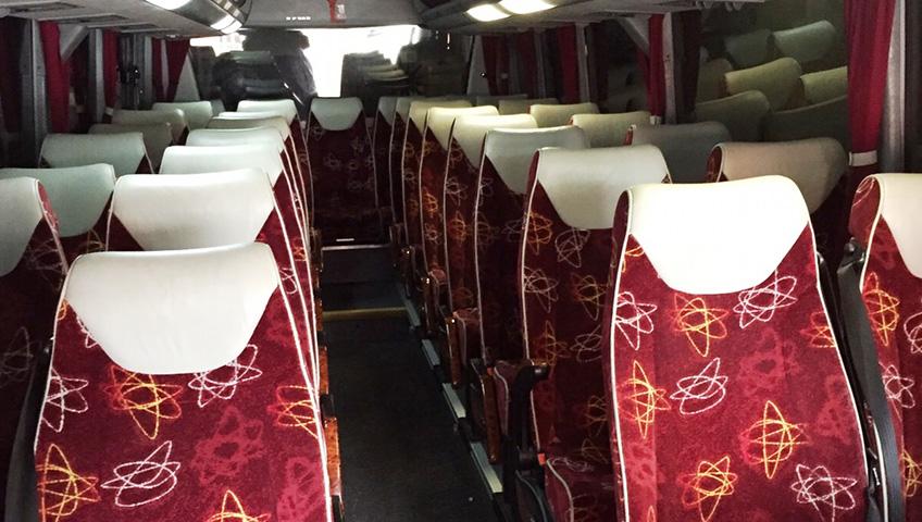 Thandi Minibus Interior