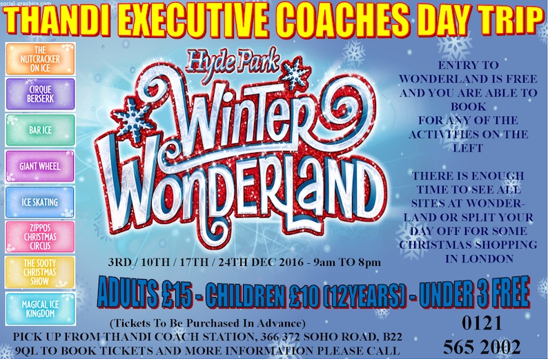 Hyde Park Winter Wonderland Flyer